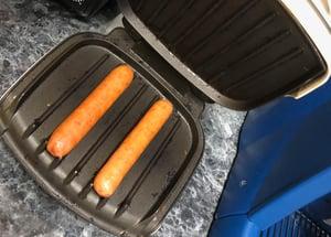 Kablooe Bratwurst design problem
